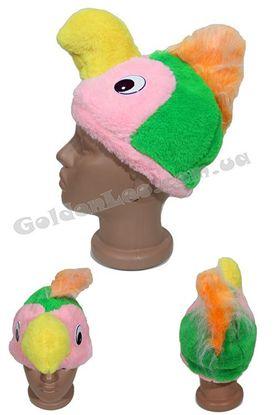 Карнавальная маска Попугая