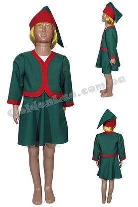 новорічний костюм ельфа