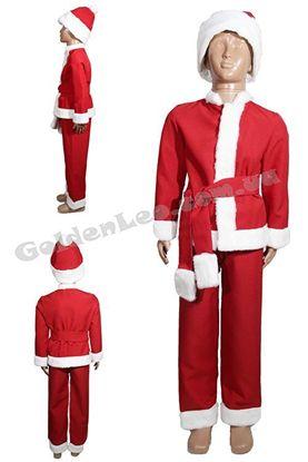 костюм Новий Рік червоний