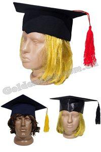 Зображення для категорії Квадратні шапки випускника, шапка для магістра