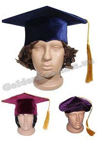 Изображение для категории Академические шапки ученого, шапочка профессора