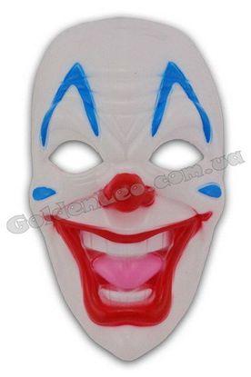 Злобный клоун маска