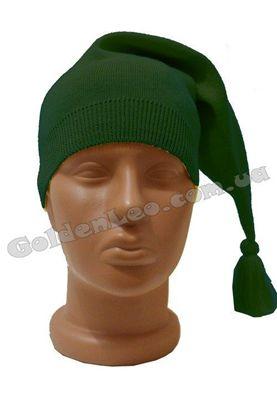 шапка гнома зелена