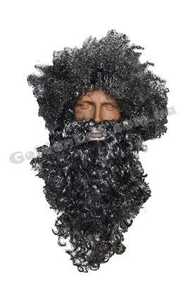 велика борода з перукою