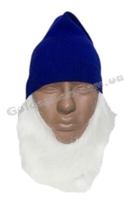 шапка гнома с бородой