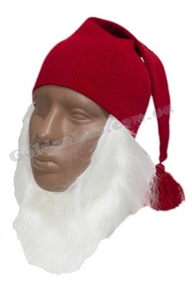 комплект Гнома шапка  борода