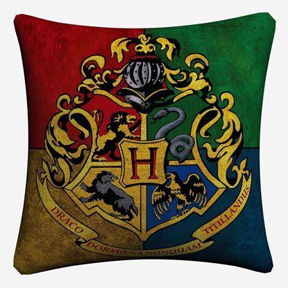 Декоративный чехол на подушку Хогвартс