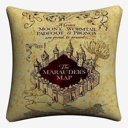 Декоративный чехол на подушку Карта Мародеров