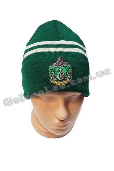 шапка слизерин вязана
